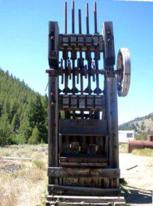 Amalgamation - Pochwerk in einer Gold- und Silbermine in Idaho, USA