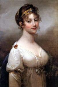 Königin Luise von Preußen mit Diadem, Mode und Schmuck