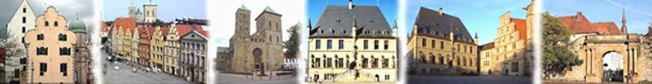 Entstehung des Stadtrings von Osnabrück ,ausgewählte Gebäude
