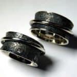Schwärzen von Silber - geschwärzte Ringe