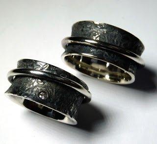 schw rzen von silber altsilber ein beispiel anhand von ringen