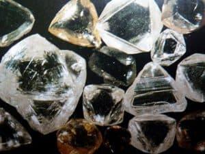 Diamanten Rohsteine