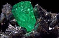 Smaragd - Rohstein