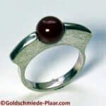 Silber-Ring mit Karneol