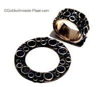 Ring für Deja-Vu Uhr Scheibe