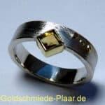 Silber-Ring mit Citrin