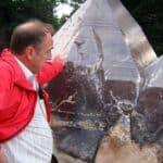 Riesiger Berg-Kristall