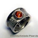 Silber-Ring mit Spessartin (Granat)