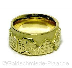 Stadtring von Osnabrück aus Gold