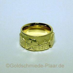Osnabrücker Ring aus Gold