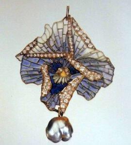 Stiefmütterchen,Lalique