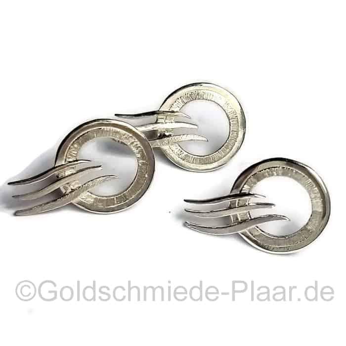 Stick Pin aus Silber als Firmenlogo Kundenauftrag
