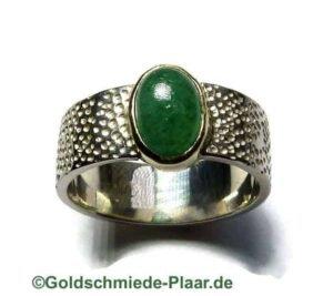 Ring aus Silber mit Aventurin