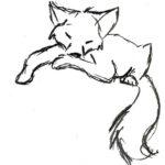 Fuchs - Skizze vom Kunden