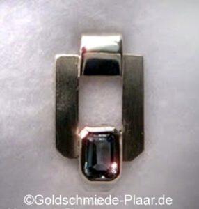Kettenanhänger 925er Silber mit Topas