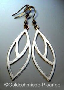 Ohrhänger aus altem Silber