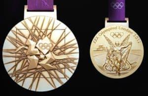 Olympische Medaillen London 2012