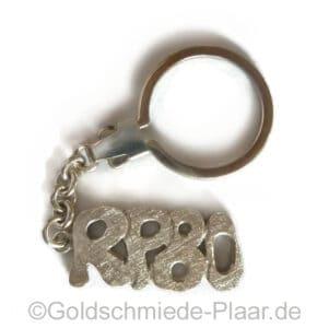 Schlüsselring 925er Silber 80
