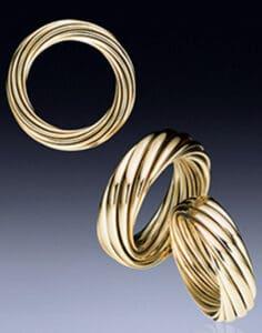 zeitlose, moderne Goldringe - Ringe im Wandel der Zeit